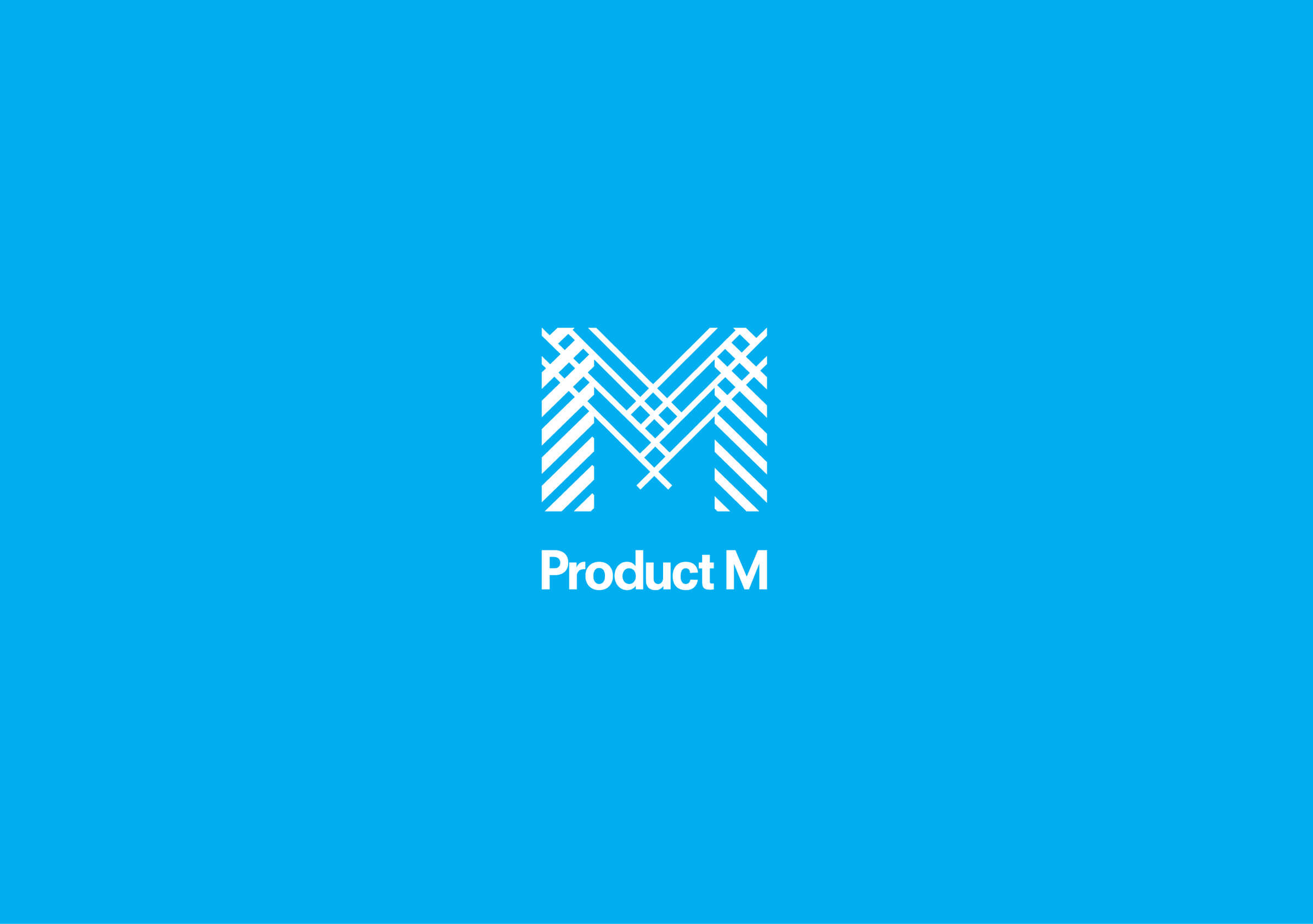 Product M logo for New York-based product marketing company by Ottawa graphic designer idApostle